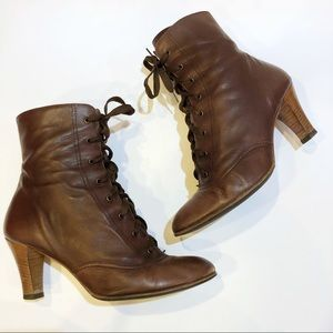Marc Jacobs Vero Cuoio Leather Granny Boots